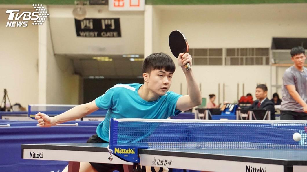圖/中央社 桌球世界排名第10 林昀儒謙稱:還可以