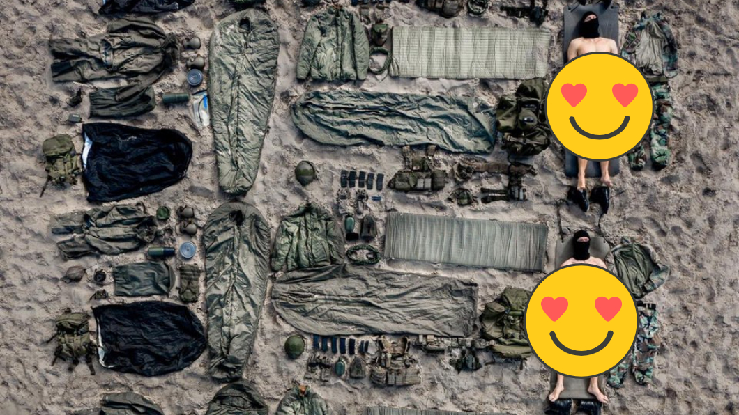 圖/翻攝@korpsmariniers推特 超養眼!荷蘭陸戰隊員「全裸開箱」 驚見台灣也入列