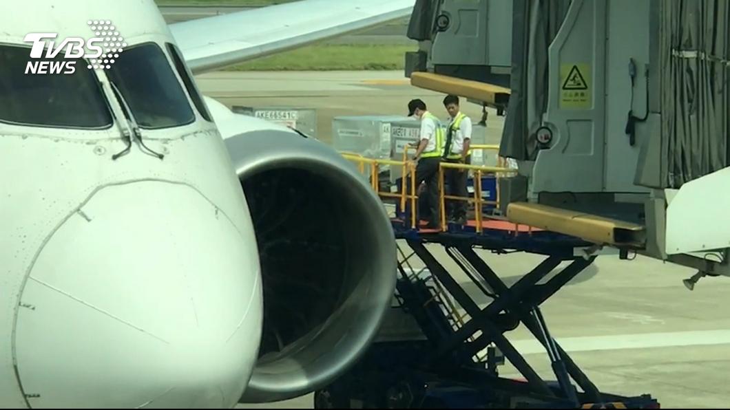 圖/TVBS資料畫面 一週內2航班機身遭擦撞 桃勤:疑操作人員分心