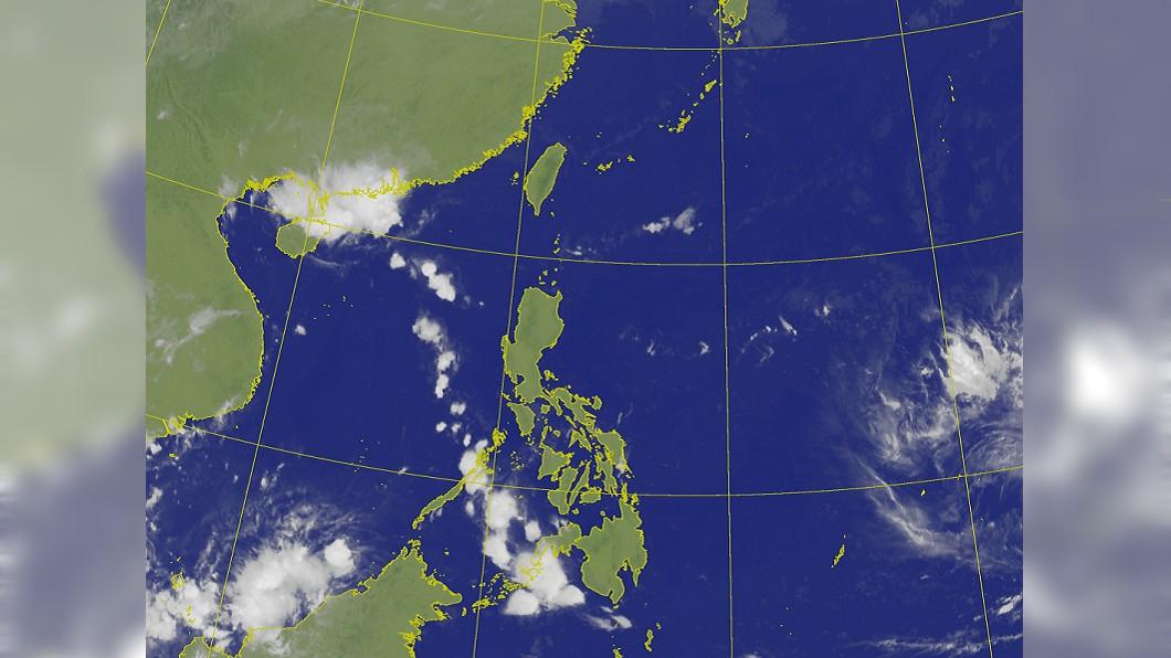 圖/翻攝自中央氣象局 哈吉貝最快明轉強颱! 1張圖了解國慶連假天氣