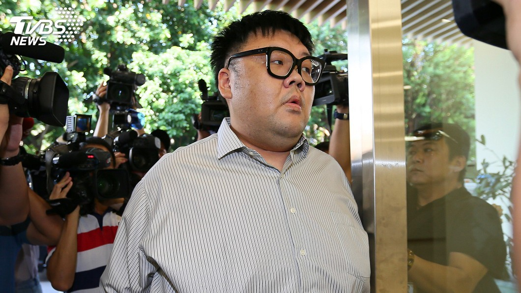 圖/中央社 W飯店命案判2年10月 「土豪哥」朱家龍入監服刑