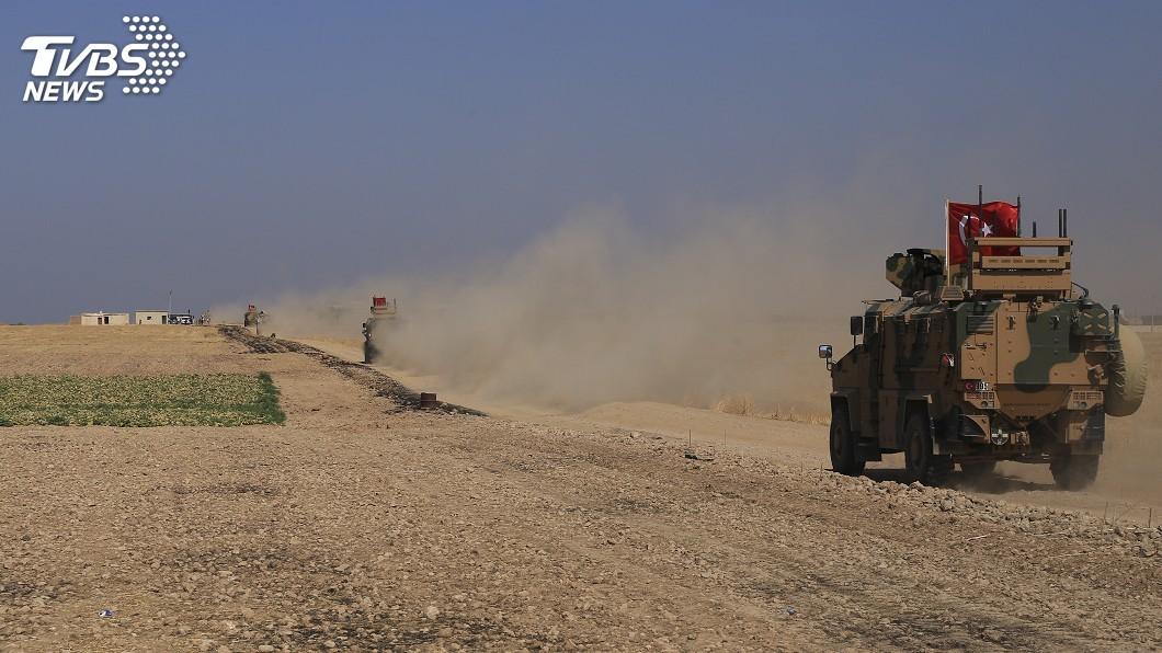 圖/達志影像美聯社 川普自敘撤軍土揚言出兵 歐洲憂IS死灰復燃