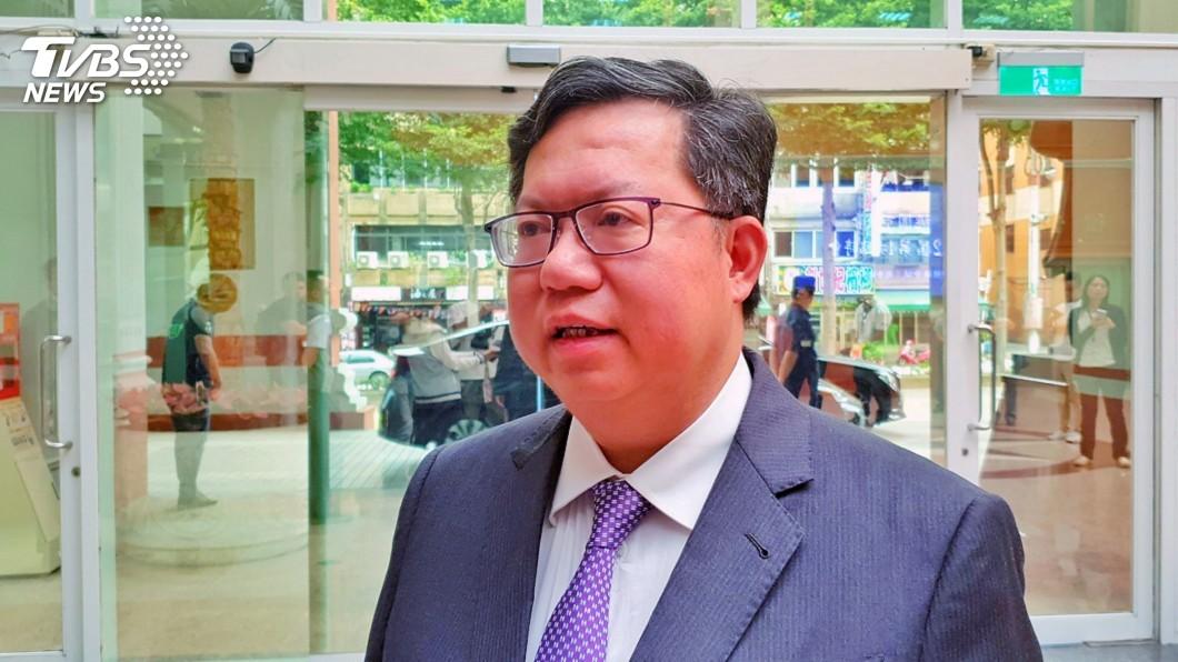 圖/中央社 鄭文燦:蔡總統已釋兩岸關係善意 路障在北京