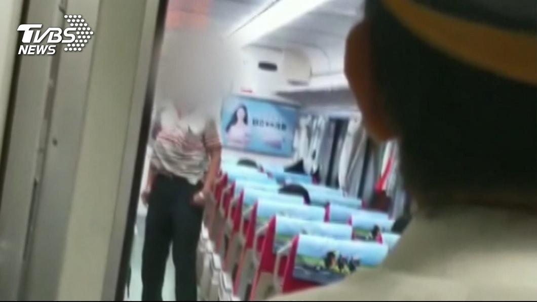 圖/TVBS資料畫面 搭火車刺死鐵路警察 凶嫌25日送精神鑑定