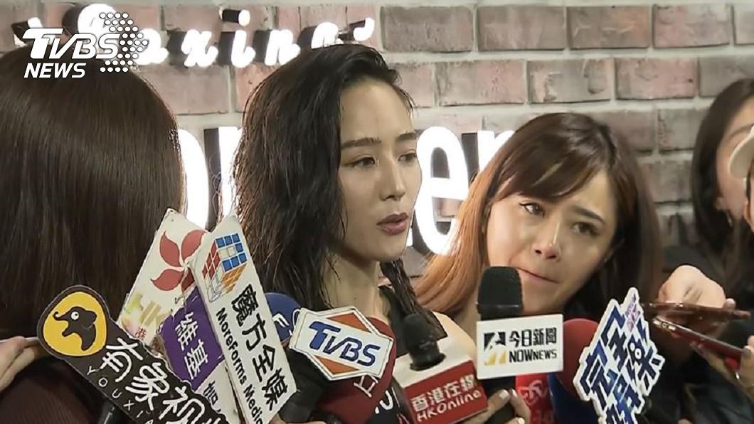 張鈞甯今日出席活動回應邱澤緋聞。圖/TVBS