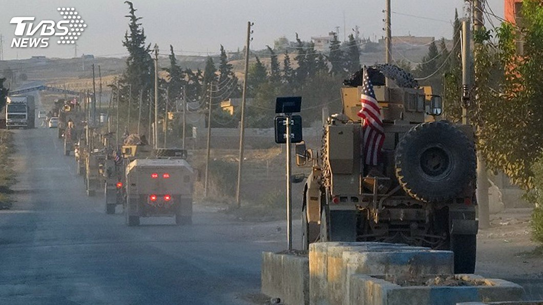 圖/達志影像美聯社 兌現競選承諾?川普撤軍敘利亞遭批背棄盟友