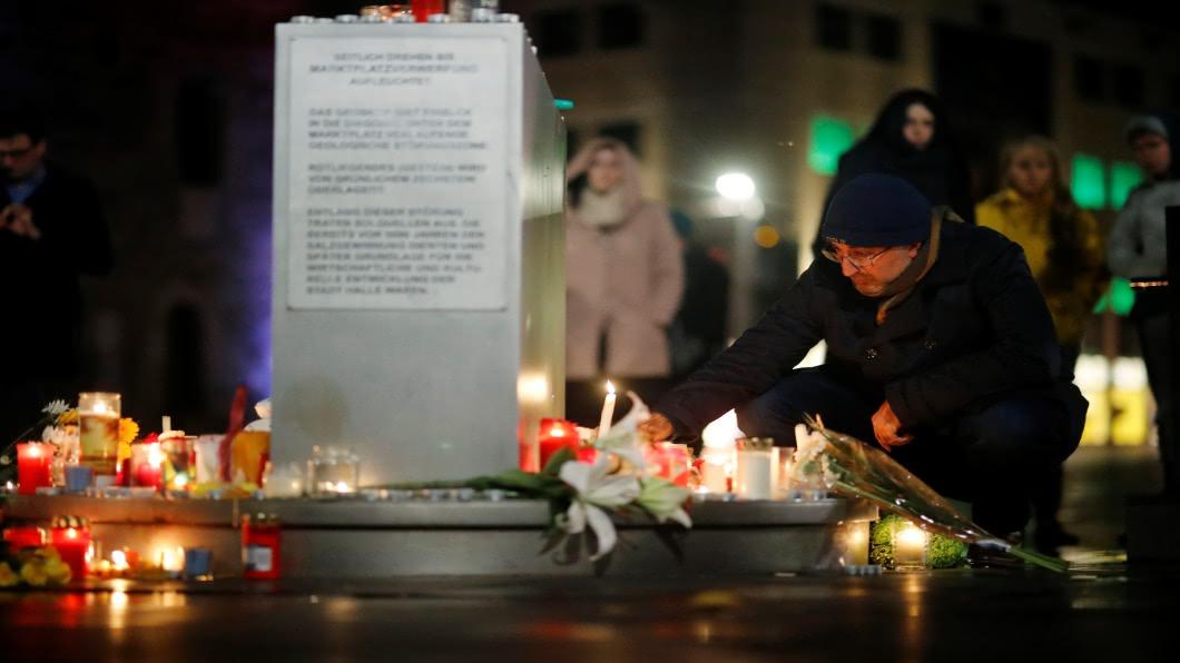 圖/達志影像路透 贖罪日血腥直播殺人 德國槍手鎖定猶太族群