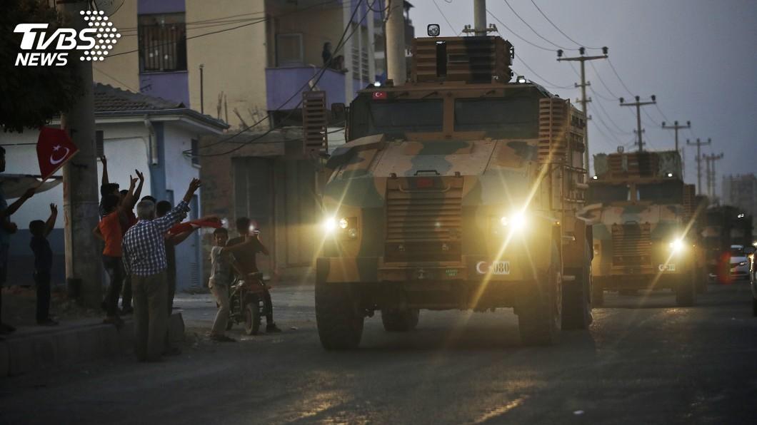 圖/達志影像美聯社 美撤軍土耳其出兵敘利亞 爆炸聲頻傳百姓奔逃