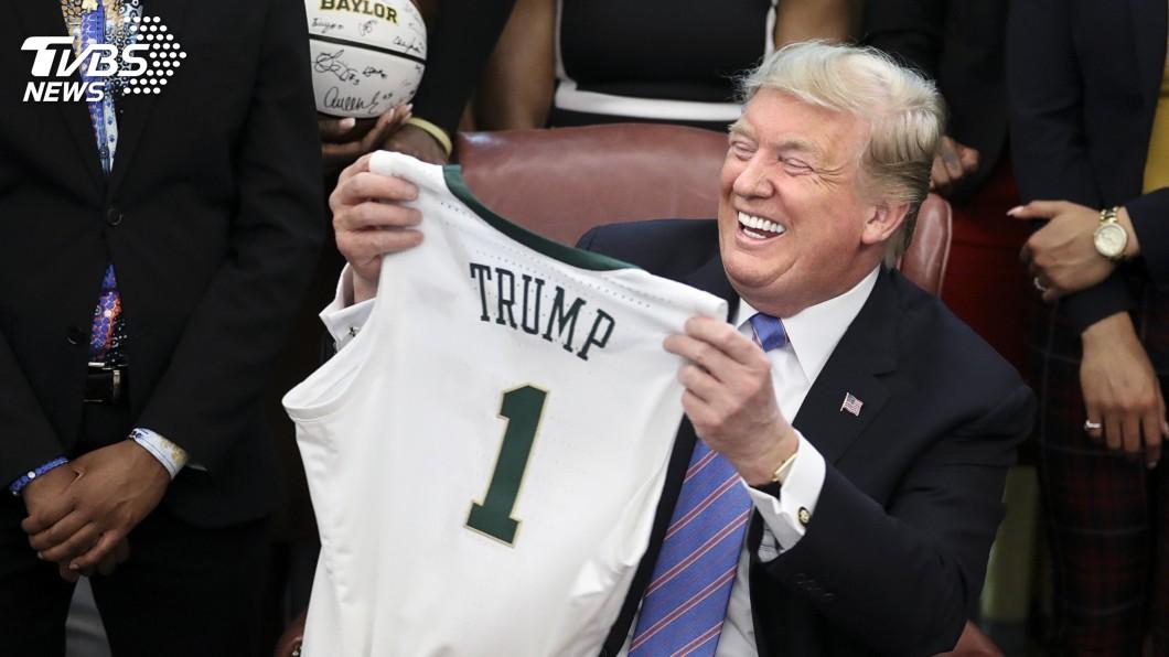 圖/達志影像美聯社 記者會全取消、NBA被陸抵制 川普:自己看著辦