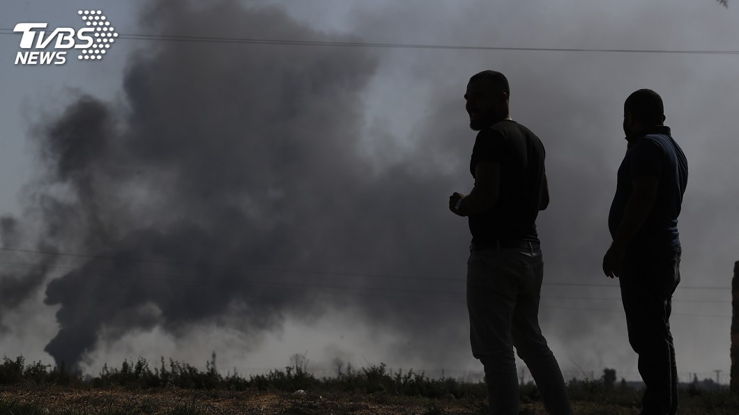 圖/達志影像美聯社 美軍撤離 土耳其空襲敘利亞、地面部隊進入