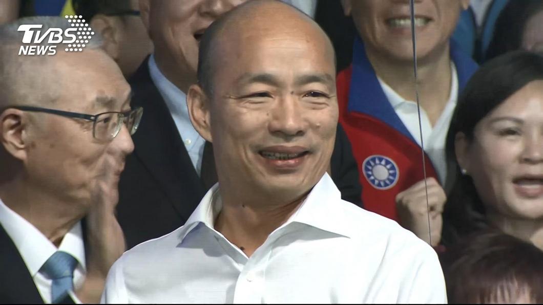 國民黨總統候選人韓國瑜。圖/TVBS資料畫面 年輕人「討厭他」?韓國瑜自揭原因 批網路帶風向