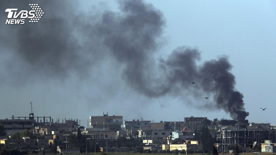 圖/達志影像美聯社 土耳其轟庫德族 駐敘美軍基地遭波及
