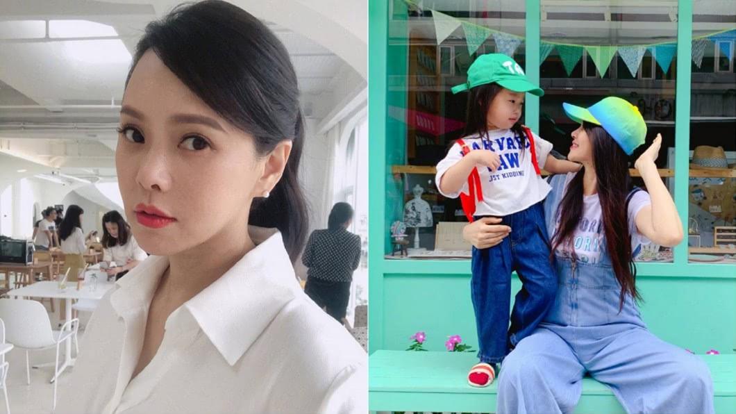 合成圖/翻攝伊能靜微博 女兒遭罵「傻呆醜」 伊能靜:已請律師蒐證