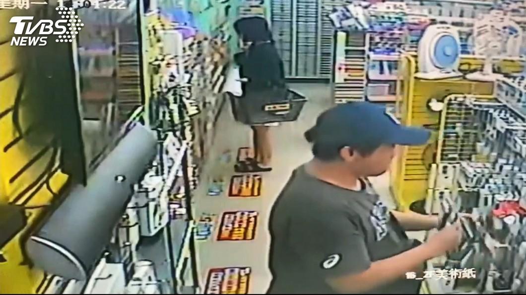 圖/TVBS 同店「連偷3次」 照片被貼收銀台、再偷遭逮