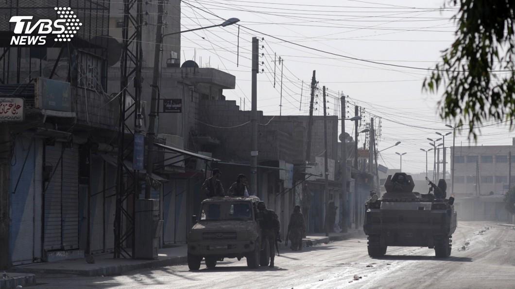圖/達志影像路透社 土耳其攻打庫德族 敘利亞派出軍隊鎮守北部