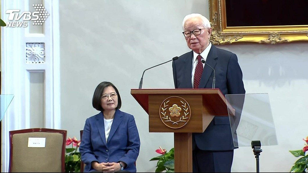 圖/TVBS 退休後連兩年拚APEC 張忠謀第3度出任領袖代表