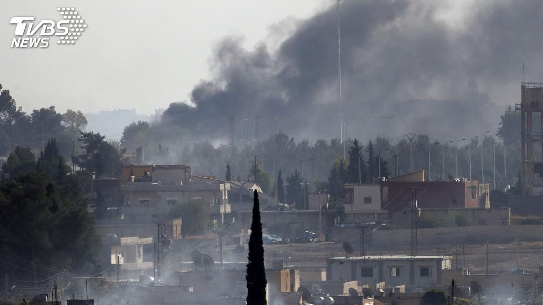 圖/達志影像美聯社 敘利亞內戰重大轉捩點 庫德族宣布聯政府軍抗土