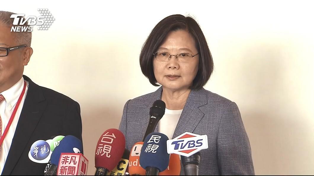 圖/TVBS 再槓芒果乾!總統嗆藍炒作 韓營反酸自種銷
