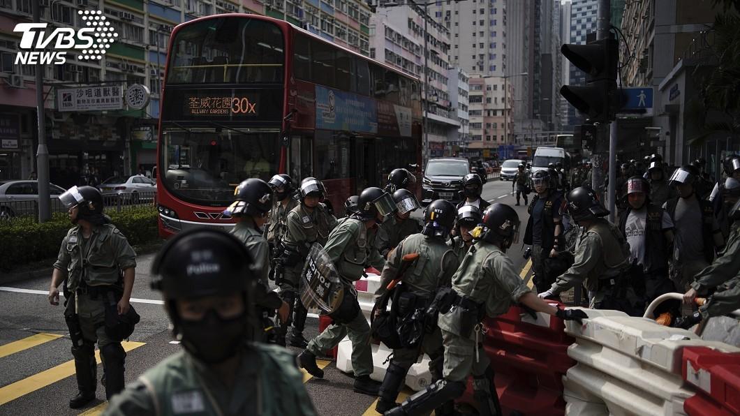 圖/達志影像美聯社 反送中持久戰 專家:將影響香港金融地位