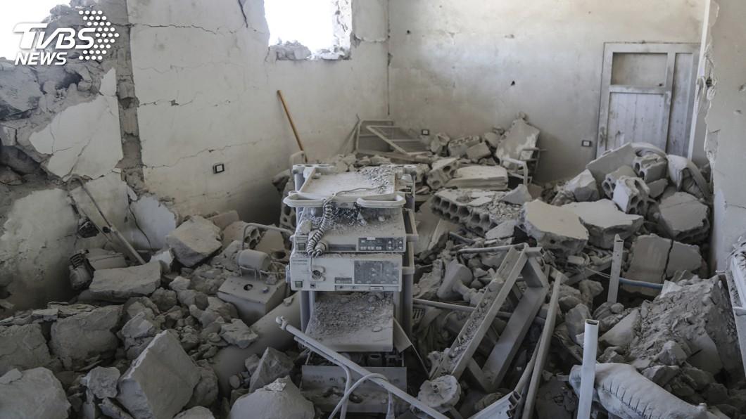 示意圖/達志影像美聯社 俄羅斯戰機12小時炸4敘利亞醫院 紐時揭證據