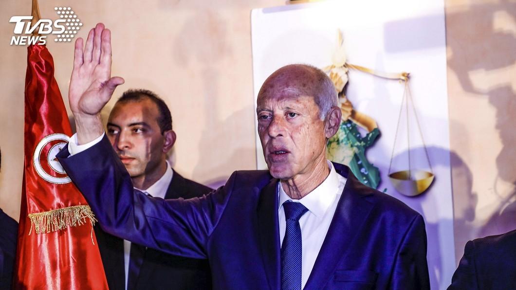 圖/達志影像美聯社 保守法學素人當選總統 突尼西亞政治添新頁