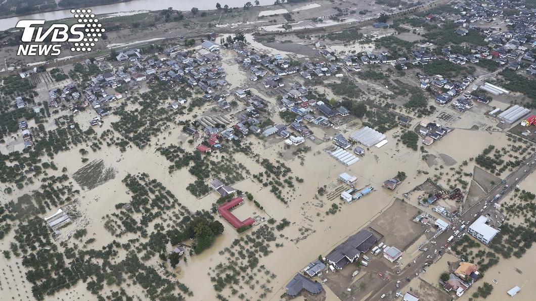 圖/達志影像美聯社 哈吉貝襲日已58死 降雨恐造成二次災害