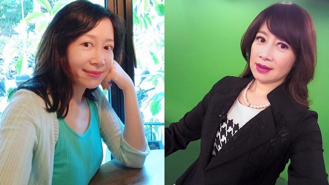 圖/翻攝自蕭裔芬臉書 走下神壇狠揭秘辛 她嘆:彷彿最陰險的女人都當主播