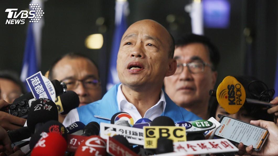 圖/中央社 韓國瑜宣布從南方出發 把溫暖希望帶給全台灣