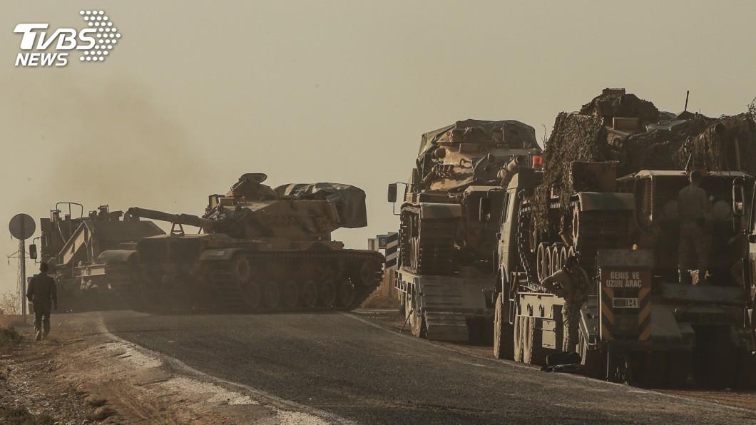 圖/達志影像美聯社 歐盟譴責土耳其出兵敘北 安卡拉批包庇恐怖分子