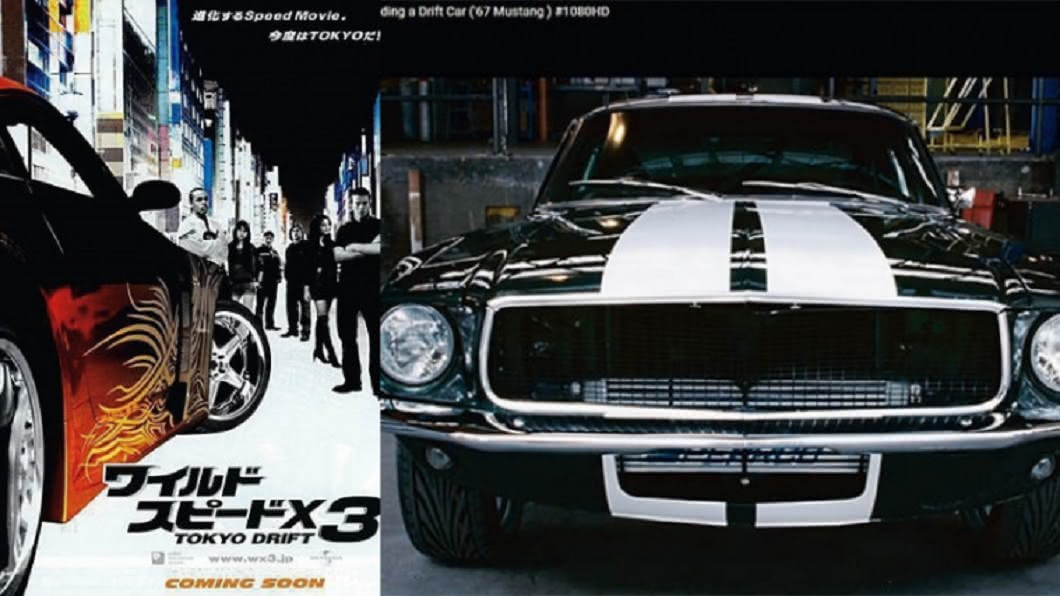 電影《玩命關頭3:東京甩尾》中的雪佛蘭科邁羅(GM Chevrolet Camaro),是合擎做的鈑件。(圖/CTWANT提供) 玩命關頭幕後黑手 全球骨董車復刻王在台灣