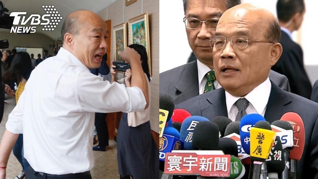 圖/TVBS 韓請假救台灣!蘇貞昌轟「邏輯不通」:你還要再上當嗎?