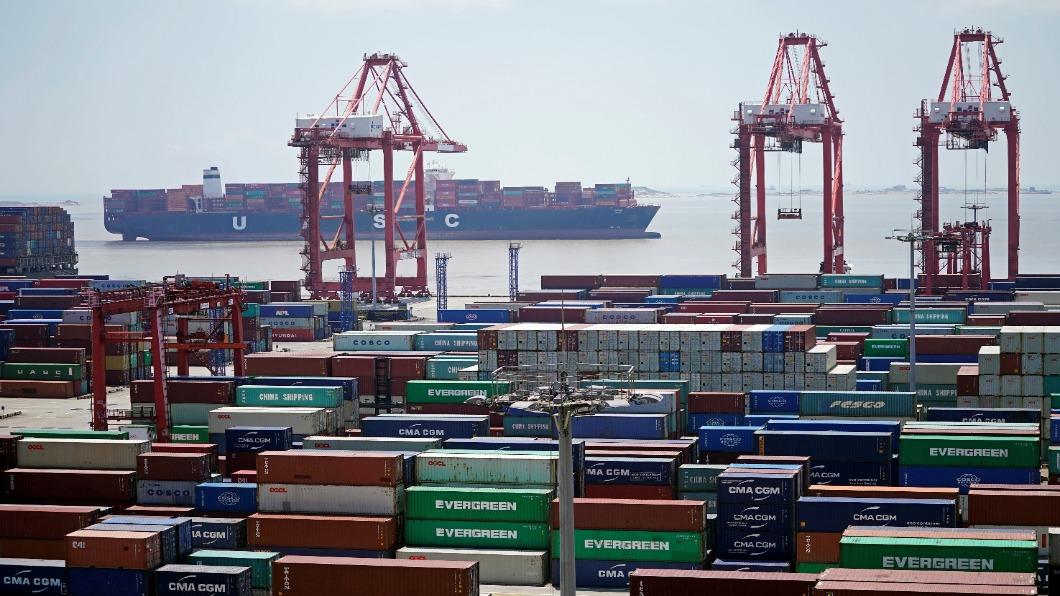 圖/達志影像路透 美中貿戰重挫大陸外貿 9月進出口雙降