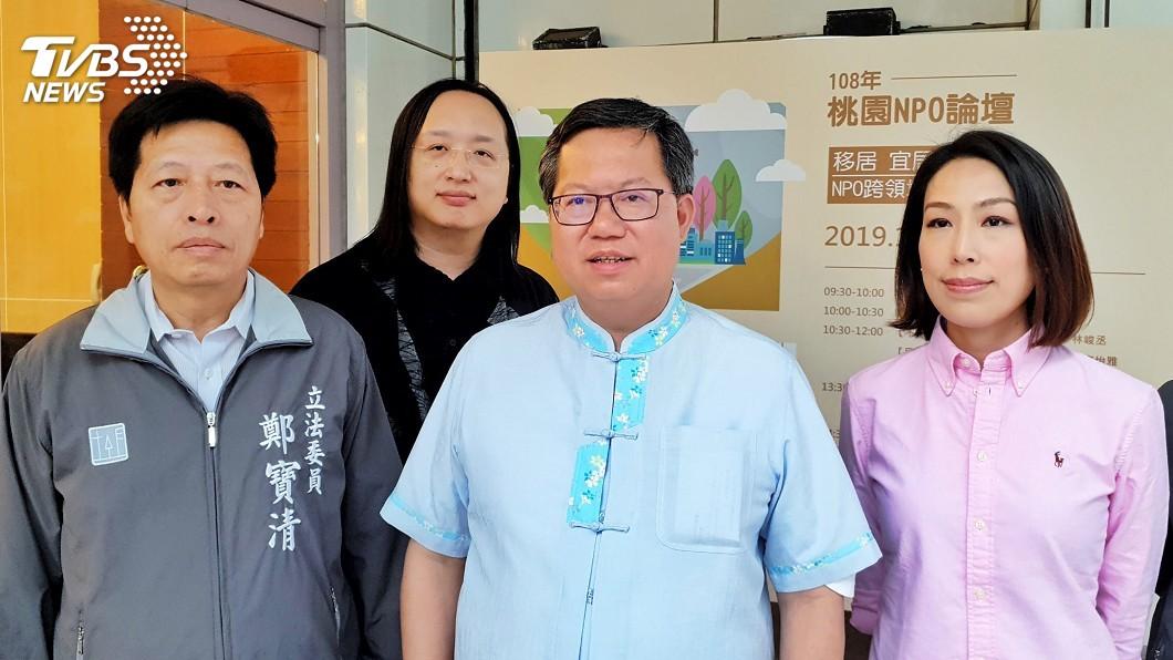 圖/中央社 副手由蔡總統決定 鄭文燦:相信黨內同志都會支持