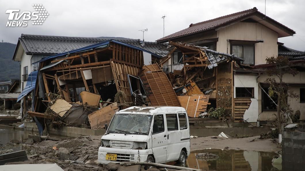 圖/達志影像美聯社 颱風哈吉貝襲日已74死218傷 逾萬棟民宅淹水