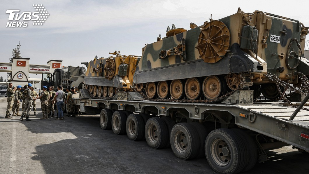 圖/達志影像美聯社 不理國際譴責 土耳其誓言繼續敘利亞軍事行動
