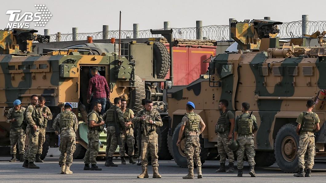 圖/達志影像美聯社 美副總統外交出擊 促土耳其停打敘利亞庫德族