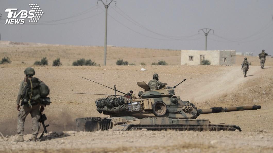 圖/達志影像美聯社 出兵敘北遭美制裁 土耳其:絕不宣布停火