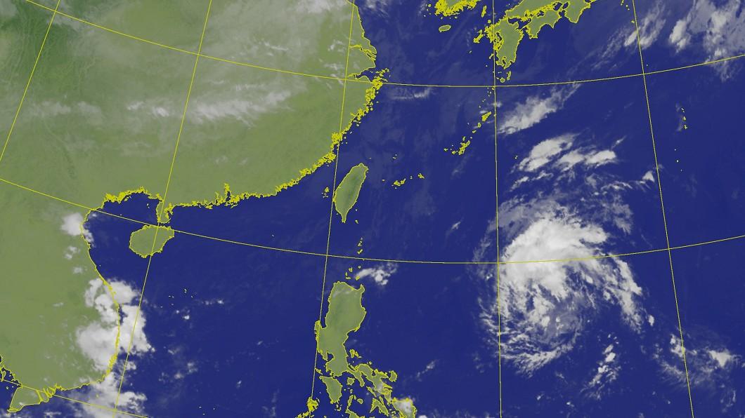 圖/中央氣象局 第20號颱風浣熊最快今生成 預估週末最靠近台灣