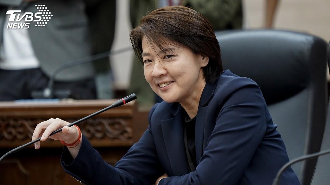 圖/中央社 黃珊珊:接北市副市長是做工 沒邀宋楚瑜觀禮