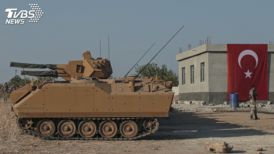 圖/達志影像美聯社 譴責入侵行為 加拿大暫停對土耳其銷售軍事武器