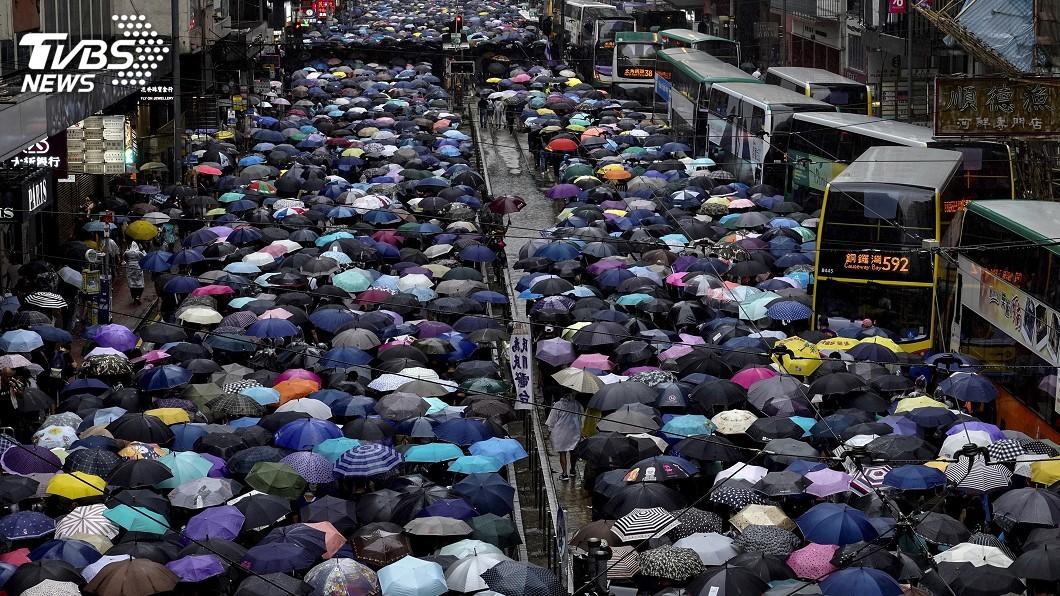圖/達志影像美聯社 美眾院通過香港法 北京怒斥勿干涉中國內政