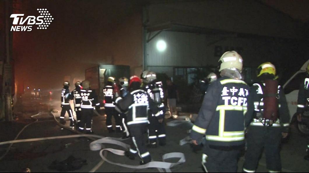 圖/TVBS 消防法三讀修正 消防員:退避權空白處恐惹議