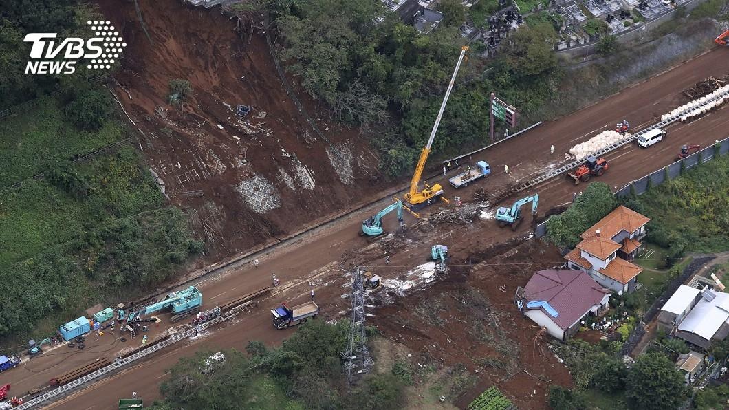 圖/達志影像美聯社 哈吉貝重創日本東北三縣 311後二度成重災區