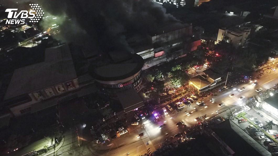 圖/達志影像美聯社 菲律賓民答那峨6.4強震 至少2死20多傷
