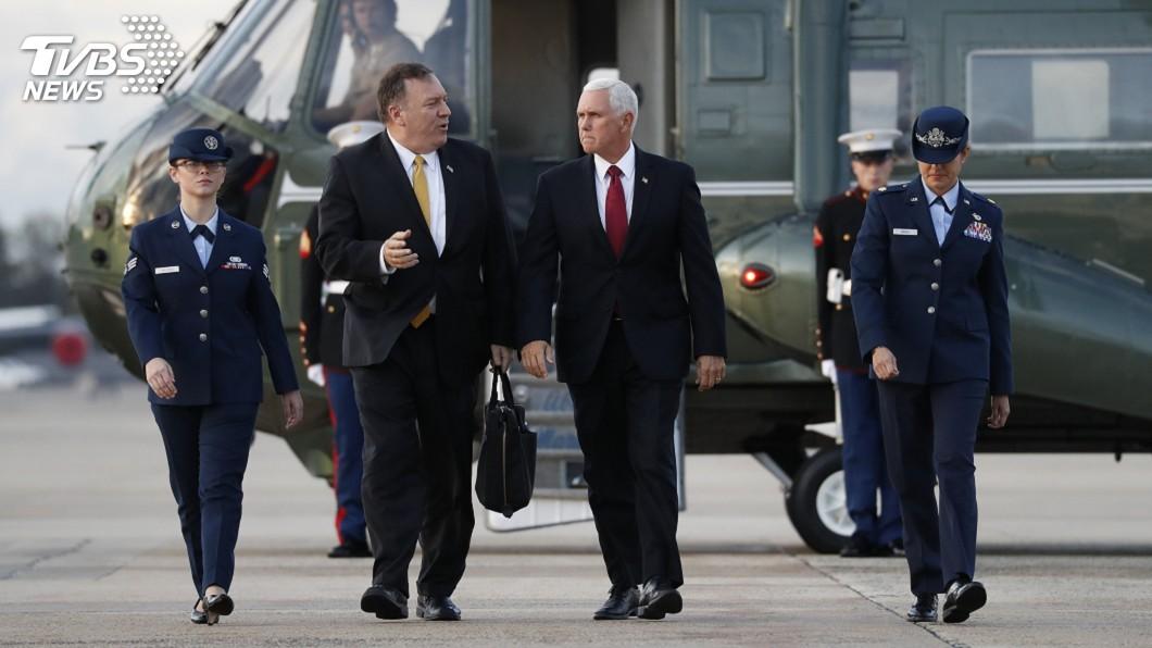 圖/達志影像美聯社 美副總統赴土耳其促停火 國務卿隨行後再趕兩站