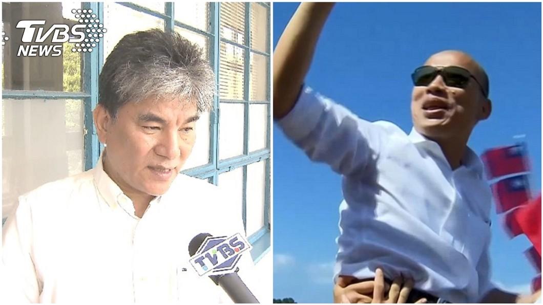 名嘴陳敏鳳近日爆料韓國瑜(右)副手人選是前內政部長李鴻源(左)。圖/TVBS資料照 名嘴爆任韓國瑜副手! 李鴻源親自給答案