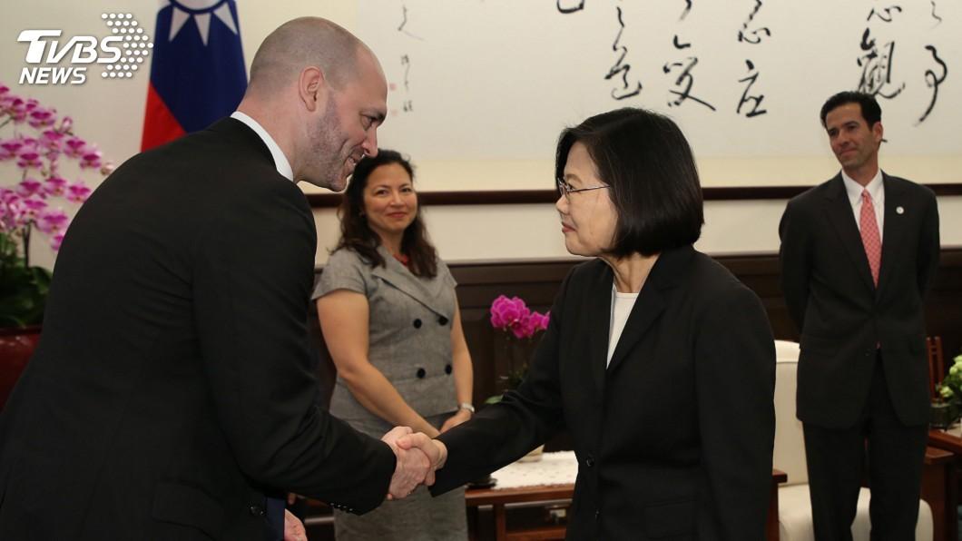 圖/中央社 香港民主抗爭 總統:一國兩制永遠不是台灣選項