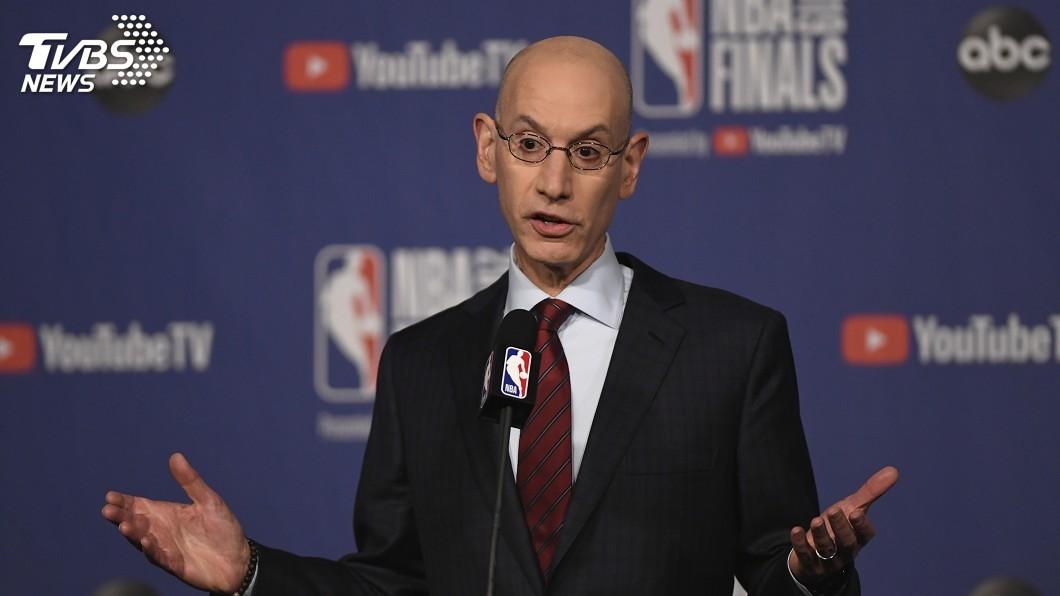 圖/達志影像美聯社 中國要求開除火箭隊總管 NBA總裁悍然拒絕