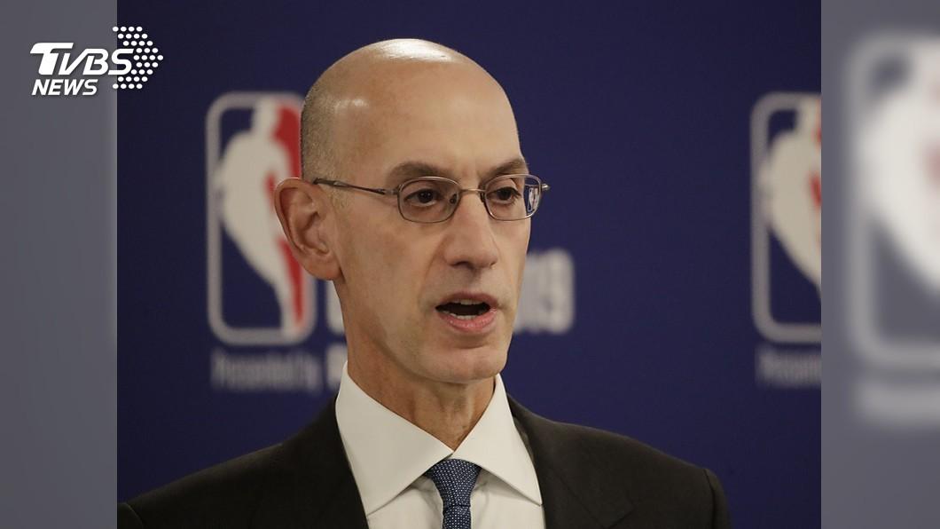 圖/達志影像美聯社 大陸要求開除火箭總管 NBA主席:不可能