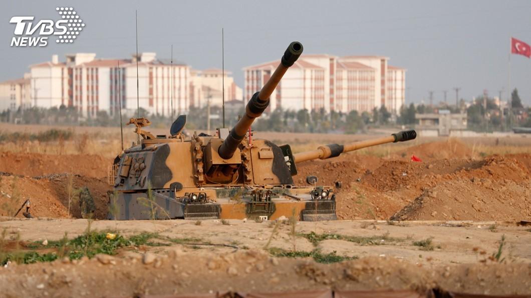圖/達志影像路透社 土耳其同意停火 敘利亞庫德族民兵接受協議